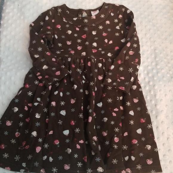 NWT Gymboree ICE CREAM SWEETIE Blue Pink Floral Flower Dress Girls Size 3 6 7